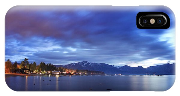 Tahoe Twilight IPhone Case