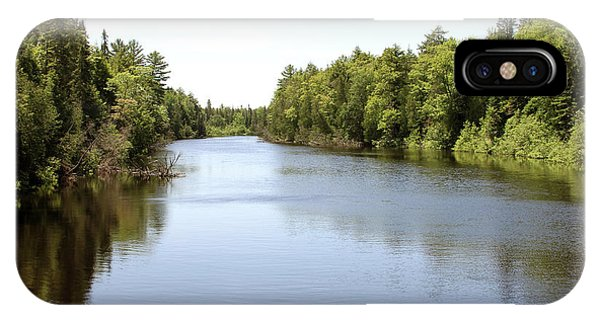 IPhone Case featuring the photograph Tahquamenon River by Jackson Pearson