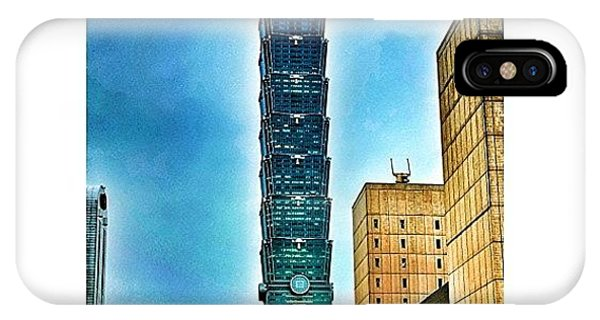 Holiday iPhone Case - Taipei 101 (chinese: 台北101 / by Tommy Tjahjono