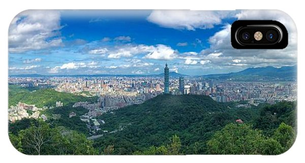 IPhone Case featuring the photograph Taipei Panorama by Brian Eberly