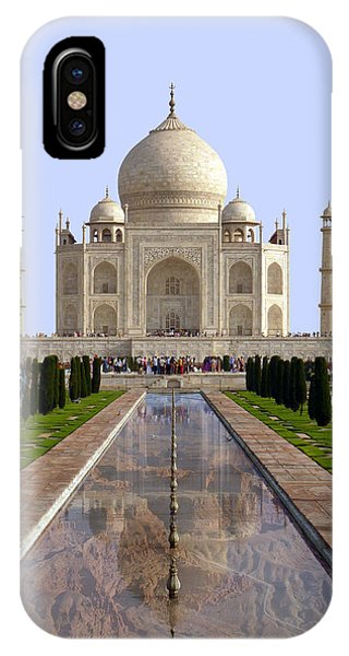 The Taj Mahal - Grand Canyon Mash-up IPhone Case