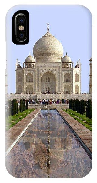 The Taj Mahal - Grand Canyon Mash-up IPhone Case
