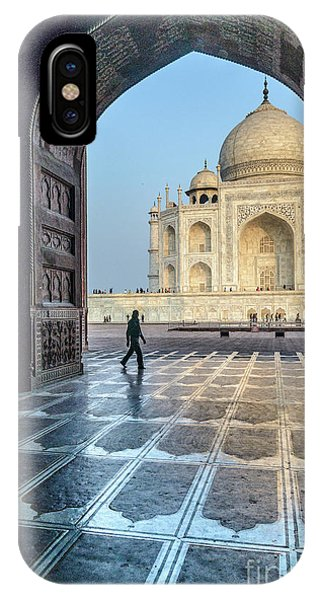 Taj Mahal 01 IPhone Case