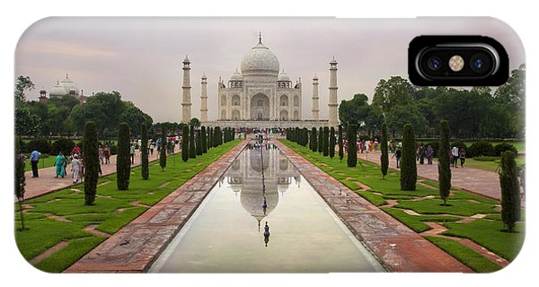 Taj Mahal At Sundown IPhone Case