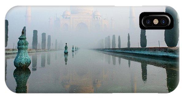 Taj Mahal At Sunrise 01 IPhone Case