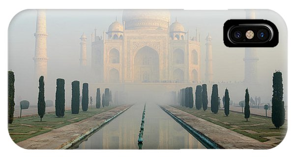 Taj Mahal At Sunrise 02 IPhone Case