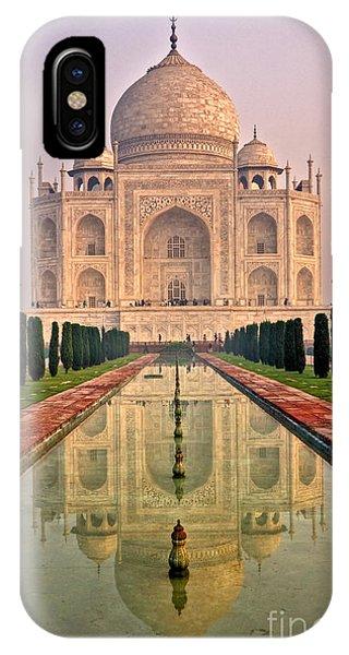 Taj Mahal At Sunrise IPhone Case