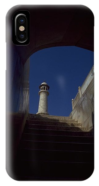 Michel Guntern iPhone Case - Taj Mahal Detail by Travel Pics