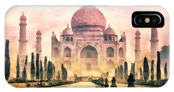 Mo iPhone Case - Taj Mahal by Mo T