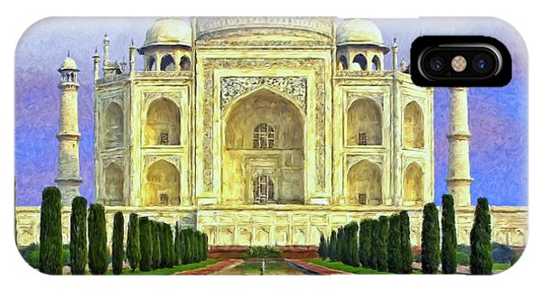 Taj Mahal Morning IPhone Case