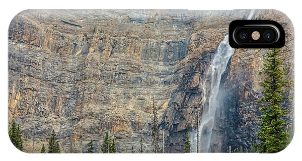 IPhone Case featuring the photograph Takakkaw Falls 2009 by Jim Dollar