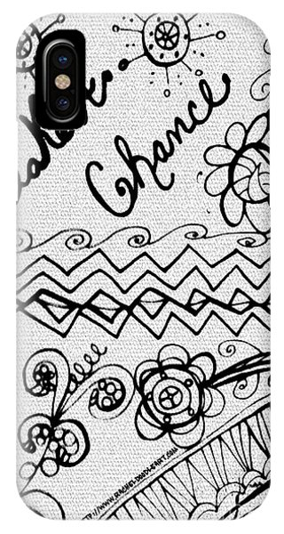 Take A Chance IPhone Case