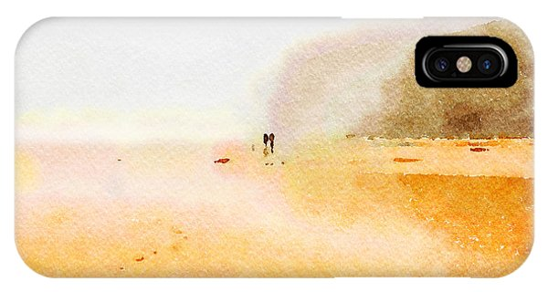 IPhone Case featuring the painting Take A Walk With Me by Angela Treat Lyon