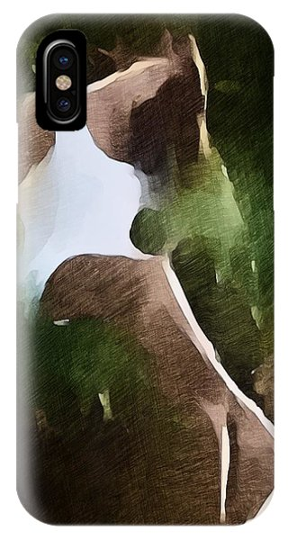 IPhone Case featuring the mixed media Take Me Away by Jeff Iverson