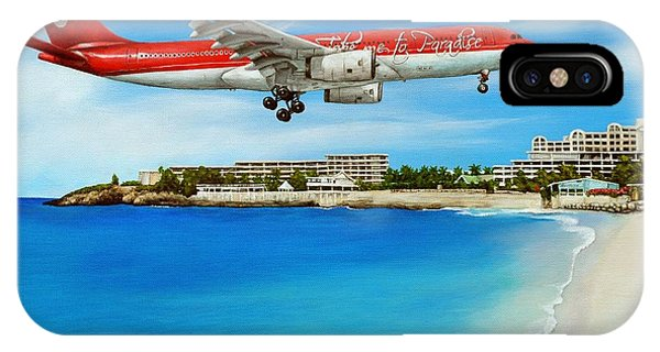 St. Maarten iPhone Case - Take Me To Sxm by Cindy D Chinn