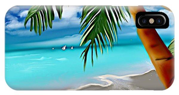 Takemeaway Beach IPhone Case