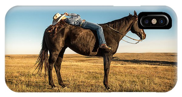 Magazine Cover iPhone Case - Taking A Snooze by Todd Klassy