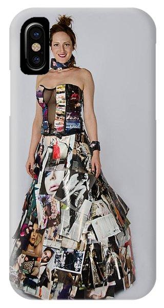 Megan In Gown IPhone Case