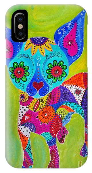 Talavera Chihuahua IPhone Case