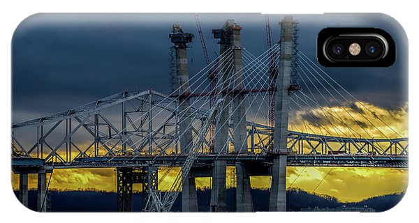 Tale Of 2 Bridges At Sunset IPhone Case