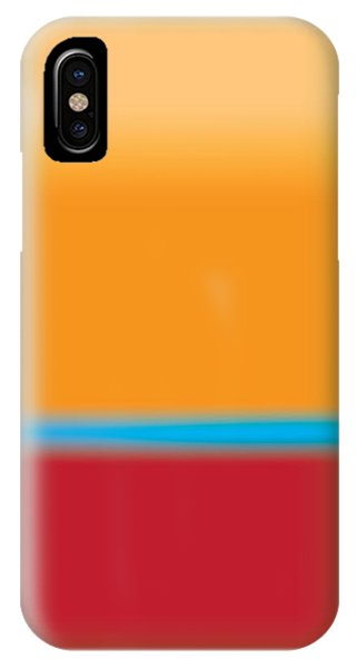 Tall Abstract Color IPhone Case