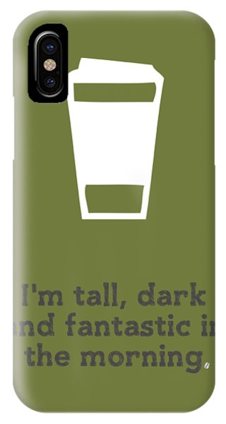 Kitchen iPhone Case - Tall And Dark Morning by Nancy Ingersoll