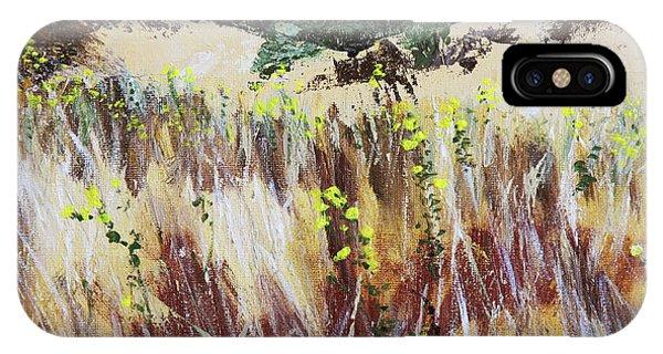 Tall Grass. Late Summer IPhone Case