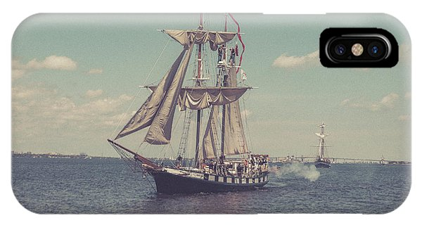 Tall Ship - 3 IPhone Case