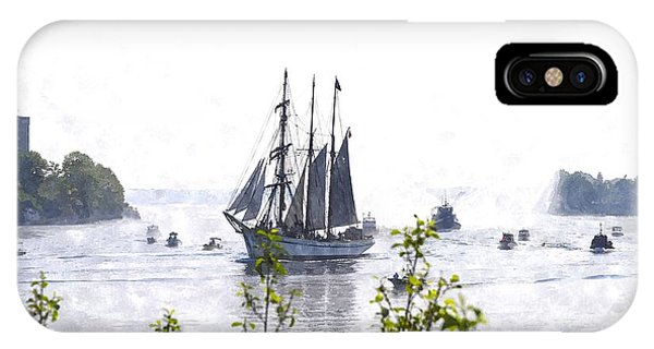 Tall Ship Tswc IPhone Case