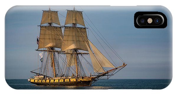 Tall Ship U.s. Brig Niagara IPhone Case