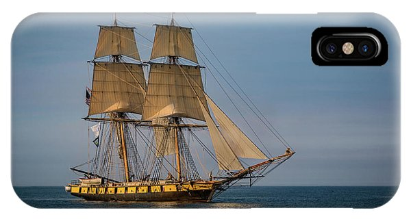 Tall Ship U.s. Brig Niagara IPhone Case