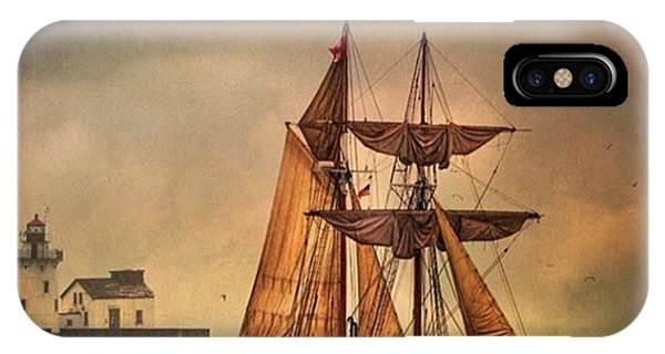 Fineart iPhone Case - Tall Ships In Cleveland. #cle #fineart by Dale Kincaid