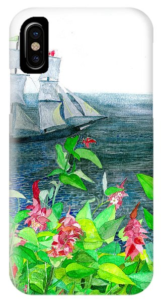 Tall Ships In Victoria Bc IPhone Case