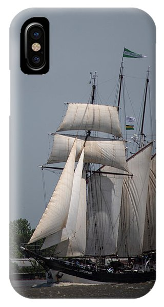 Tall Ships To Nola IPhone Case
