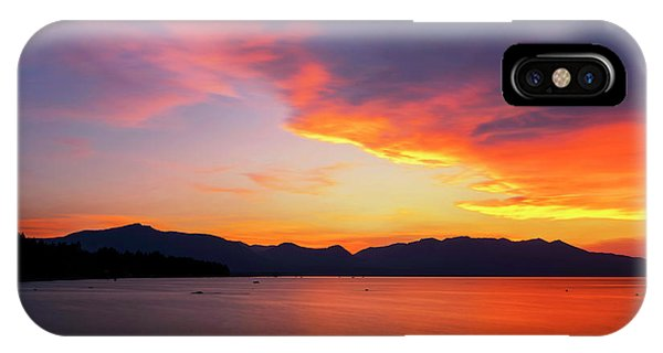 Tallac On Fire IPhone Case