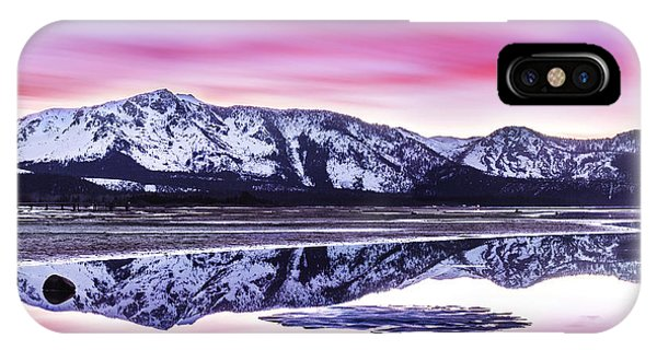 Tallac Reflections, Lake Tahoe IPhone Case