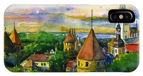 Tallinn Estonia IPhone Case