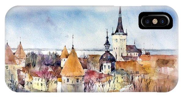 iPhone Case - Tallinn - Estonia by Natalia Eremeyeva Duarte