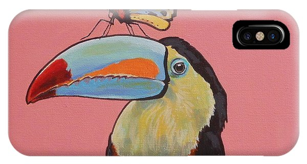 Talula The Toucan IPhone Case