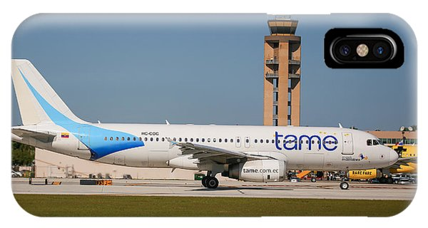 Tame Airline IPhone Case