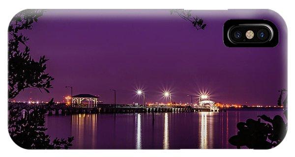 Tampa Bay Fishing Pier IPhone Case
