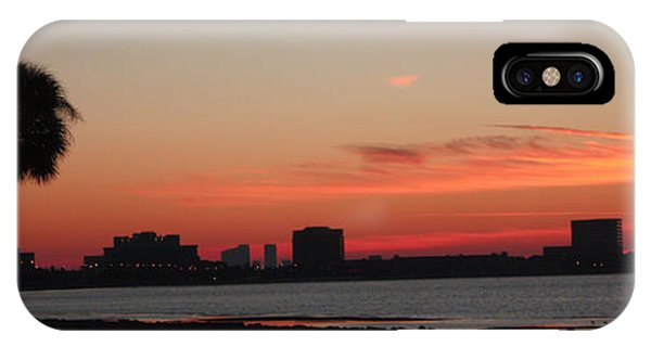 Tampa Bay Sunrise Phone Case by Janet Pugh