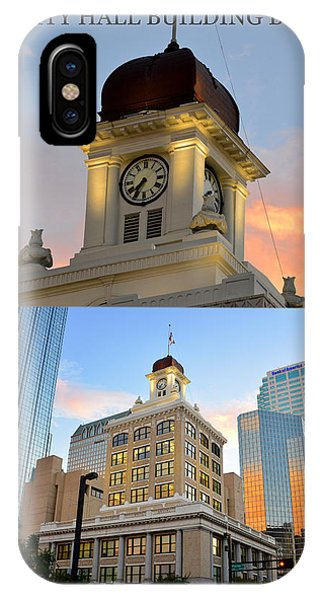 iPhone Case - Tampa City Hall Building Built 1915 by David Lee Thompson