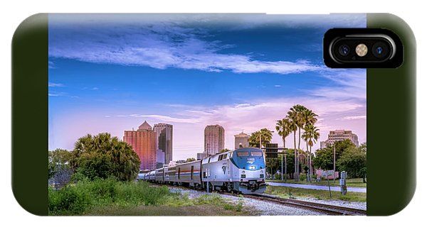 Railroad Station iPhone Case - Tampa Departure by Marvin Spates
