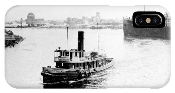 Tampa Florida - Harbor - C 1926 IPhone Case