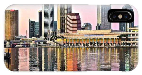 Tampa In Vivid Color IPhone Case