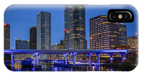 Tampa Night IPhone Case