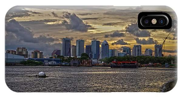 Tampa Skyline Phone Case by Chauncy Holmes