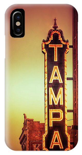 Tampa Theatre IPhone Case