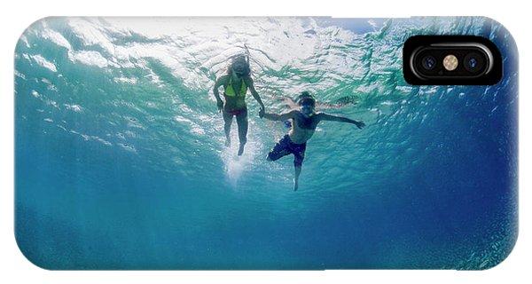 Salt Water iPhone Case - Tandem Swim by Sean Davey